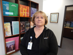Faith is an intrinsic quality of nursing, says Sue Gibson, RN, nurse manager of Mercy Home Health, Oklahoma City and Midwest City.