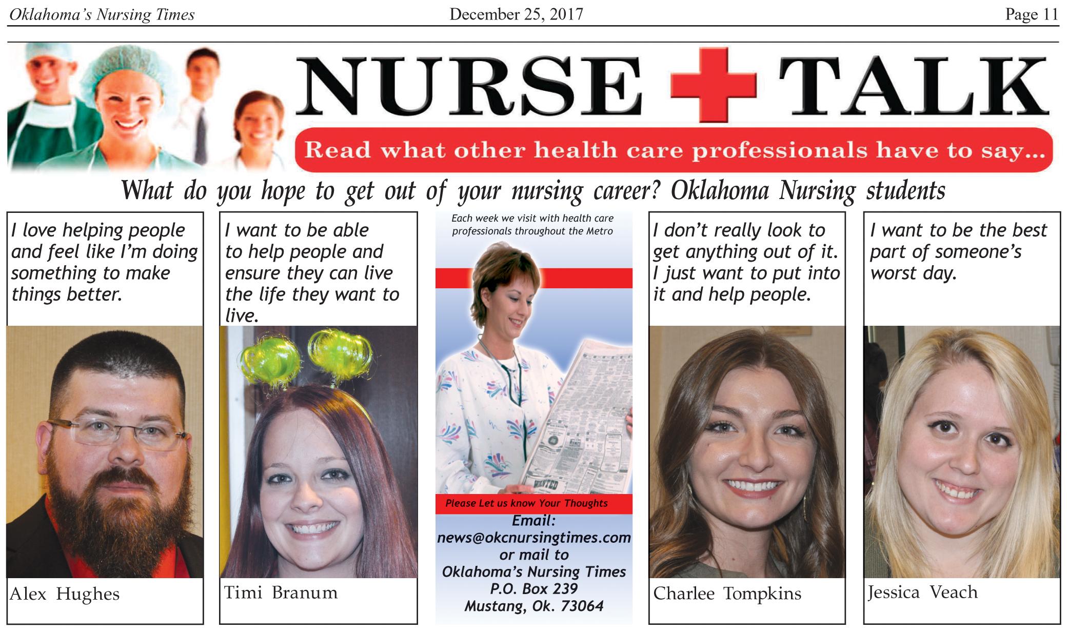 December   2017   Oklahoma Nursing Times