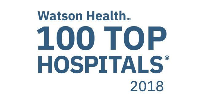 Hospital makes top 100 list