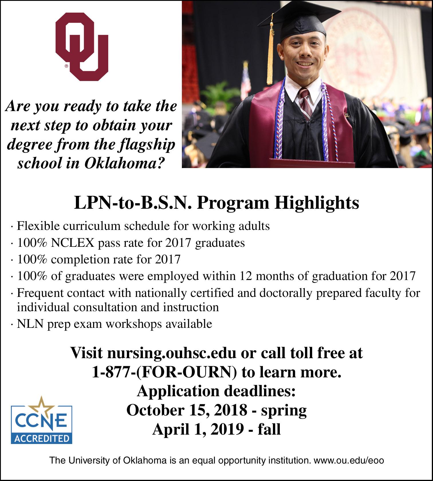 LAST WEEK\'S OKNT NURSING NEWS   Oklahoma Nursing Times