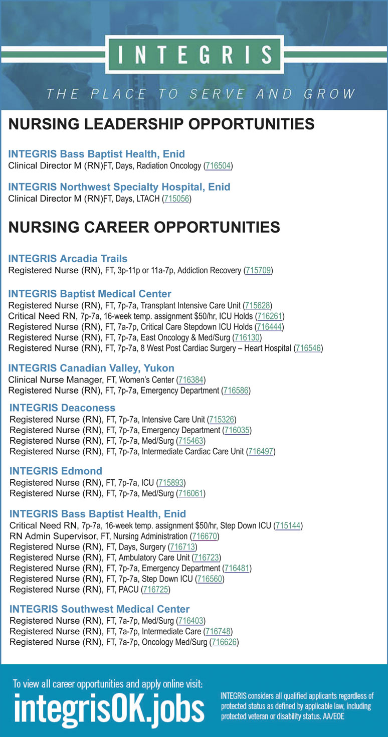 April | 2019 | Oklahoma Nursing Times | Page 3